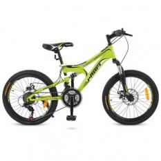 Велосипед 20 д. G20DAMPER S20.4 (1шт/ящ) PROF1, Зелений