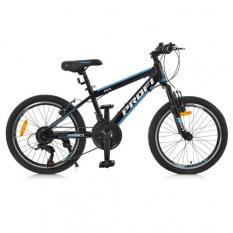 Велосипед 20 д. G20FIFA A20.1 (1шт/ящ) PROF1, Чорно-блакитний