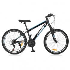 Велосипед 24 д. G24FIFA A24.1 (1шт/ящ) PROFI, Чорно-блакитний