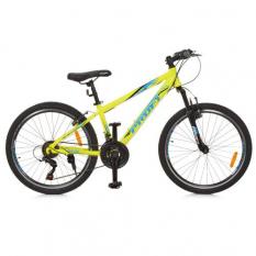 Велосипед 24 д. G24PLAIN A24.1 (1шт/ящ) PROFI, Салатовий