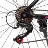 Велосипед 26 д. G26VEGA A26.2 (1шт/ящ) PROFI, Чорно-рожевий