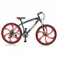 Велосипед 26д. BLADE 26.1B (1шт/ящ) PROFI, Чорно-червоний