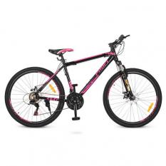 Велосипед 26д. G26YOUNG A26.4 (1шт/ящ) PROFI, Чорно-рожевий