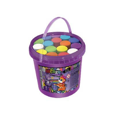 """Крейда для малювання на асфальті MEL-03-01 """"Danko-toys"""", банка, 16 кольорів"""