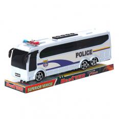 Автобус 818-5 инерционный, полиция, в слюде