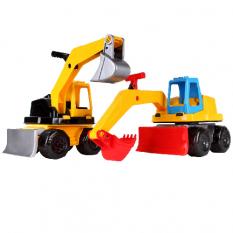 Трактор 6290 Технок, екскаватор