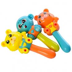 Брязкальце 665-3 ведмедик, мавпочка, тигр, в кульку