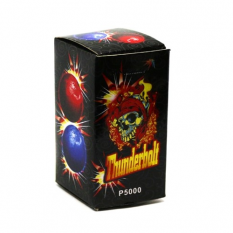"""Вогняні кулі P 5000 (1уп / 12шт) Thunderbolt, """"Удар блискавки"""", в дисплеї"""