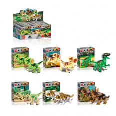 Конструктор  ZB 2205 JW, динозавр, в коробці,12 шт (6 видів) в дисплеї