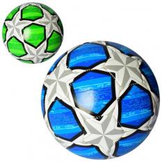 М'яч футбольний MS 2487 (30 шт) розмір 4, PU, 400-420 г, 2 кольри, в кульку