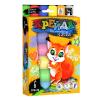 """Крейда для малювання на асфальті MEL-01-04U """"Danko-toys"""", 6 кольорів, великі, укр"""