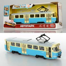Трамвай 9708-C PLAY SMART, на батарейках, в коробці