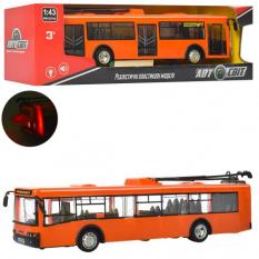 Тролейбус AS -1825 (36шт) АвтоСвіт 1:43, інер-й.