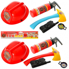 Набір пожежника 9212-6 в кульку
