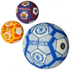 М'яч футбольний 2500-101 Клуби, в кульку