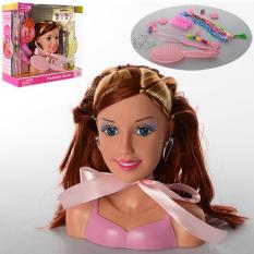 Лялька DEFA 8056  голова для зачісок, в коробці,