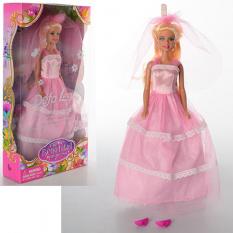 Лялька DEFA 8065 наречена, 28см, в коробці,
