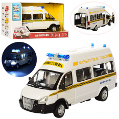 Газель 9707-D PLAY SMART, інерційний, маршрутне таксі, на батарейках, в коробці