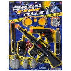 Набір поліцейського 27828 на аркуші
