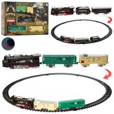 Залізниця 19058-1-2 локомотив, на батарейках, в коробці