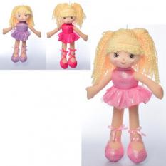 Лялька X16197 мягконабивная, балерина, в кульку