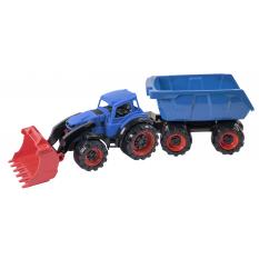 """Трактор 315-315 Texas, """"Оріон"""", Навантажувач з причепом"""