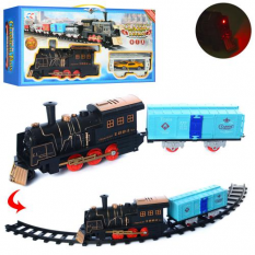 Залізниця NB558-56-59-61 локомотив, на батарейках, в коробці
