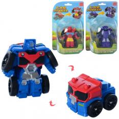 Трансформер 1001-02-03 робот + транспорт, на аркуші