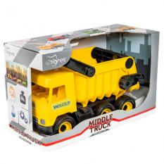 "Машина 39490 ""Middle truck"", Тигрес, самоскид, жовтий"