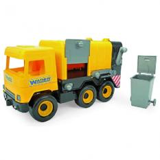 """Машина 39492 """"Middle truck"""", Тигрес, сміттєвоз, жовтий"""