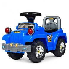 Каталка-толокар HZ 553-4 (1шт/ящ) джип, синій