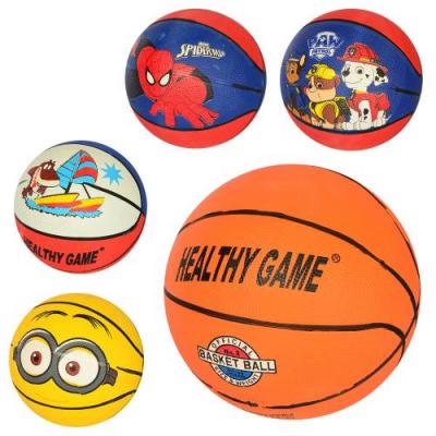 М'яч баскетбольний VA-0001-3 розмір 3, гума, в кульку
