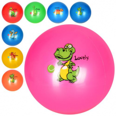М'яч дитячий MS 3005-1 Динозавр