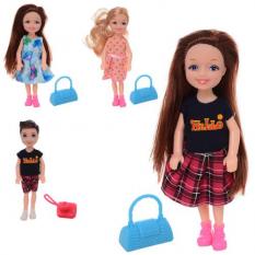 Лялька 202-1-3-7-8 аксесуари, в кульку