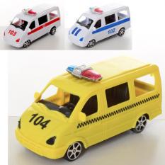 Машина J0088-1-3 інерційна, таксі, поліція, швидка, в кульку