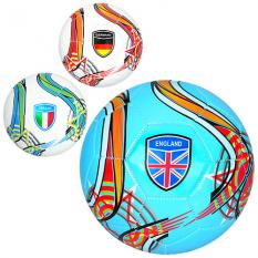 М'яч футбольний EV 3282 розмір 5, країни, в кульку