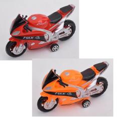 Мотоцикл 968-1-2 інерційний, в кульку