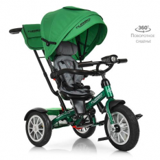Велосипед M 4057-4 (1шт / ящ) TURBOTRIKE, зелений