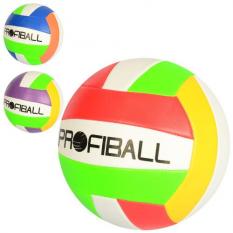 М'яч волейбольний EV 3331 PROFI, офіційний розмір, в кульку
