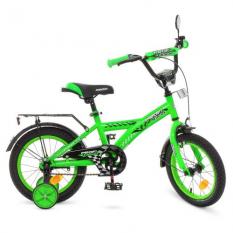 Велосипед дитячий PROF1 14д. T1436 (1шт / ящ) Racer, зелений