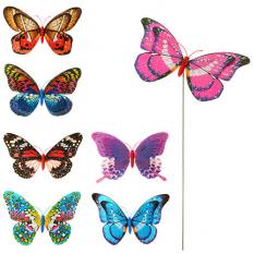 Вітрячок M 3722 діамметр 20 см, метелик