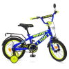 Велосипед дитячий PROF1 14д. T14175 (1шт/ящ) Flash, синій