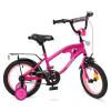 Велосипед дитячий PROF1 14д. Y14183 (1шт / ящ) TRAVELER, малиновий