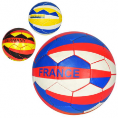 М'яч футбольний 2500-128 розмір 5, Країни, в кульку