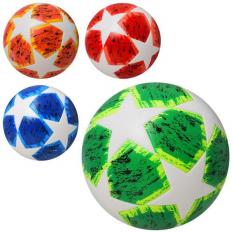 М'яч футбольний MS 2216 розмір 5, ламінований, в кульку