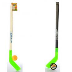 Хокей MR 0312 ключка, шайба, в сітці