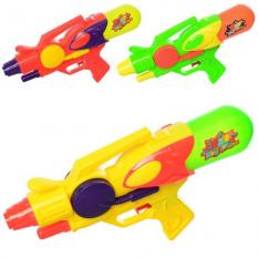 Водяной пистолет MR 0296 (96шт) размер средний, 28см, 3цвета, в кульке, 17-28-5,5см