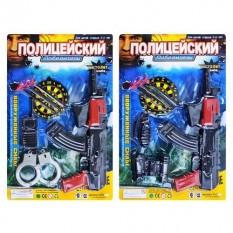 ZY Набір поліції E 01 AK 6-7 на листі