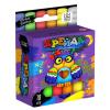 """Крейда для малювання на асфальті MEL-02-04U """"Danko-toys"""", 18 кольорів, маленьквеликі, укр"""