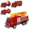 Пожежна машина 128-1-2-3-4 інерційна, в кульку